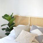 IKEA hack: cane webbing hoofdbord