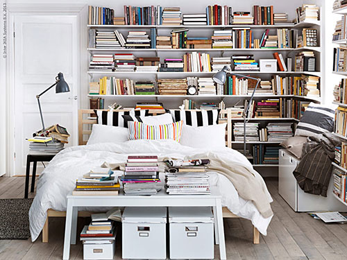 ikea slaapkamer ideeën | slaapkamer ideeën, Deco ideeën