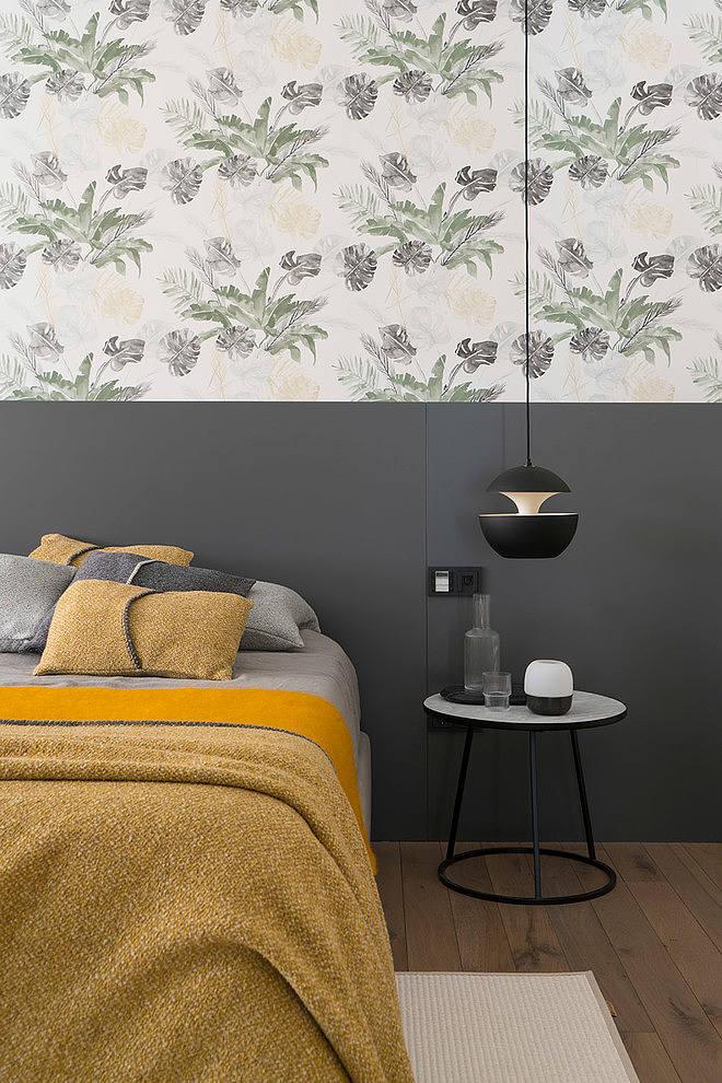 In deze mooie slaapkamer is een lounge ingericht!