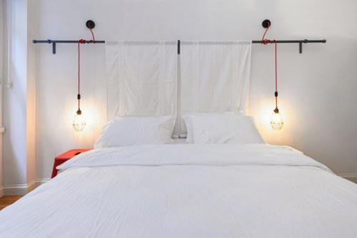 industrià le hanglampen als nachtlamp slaapkamer ideeà n