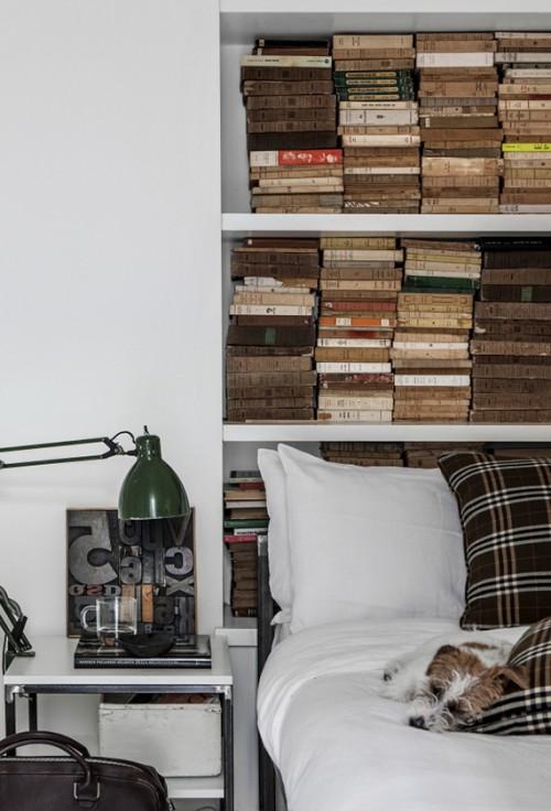 Industriële rustieke slaapkamer inspiratie  Slaapkamer ideeën