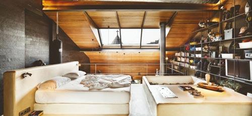 Industriële slaapkamer uit Istanbul