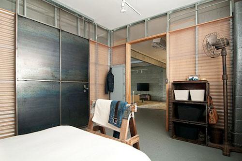 Industriele Slaapkamer Ideeen : Industriële slaapkamer voormalige ...