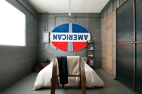 Slaapkamer Inspiratie Industrieel : Slaapkamer combinaties met bureau of bad vtwonen