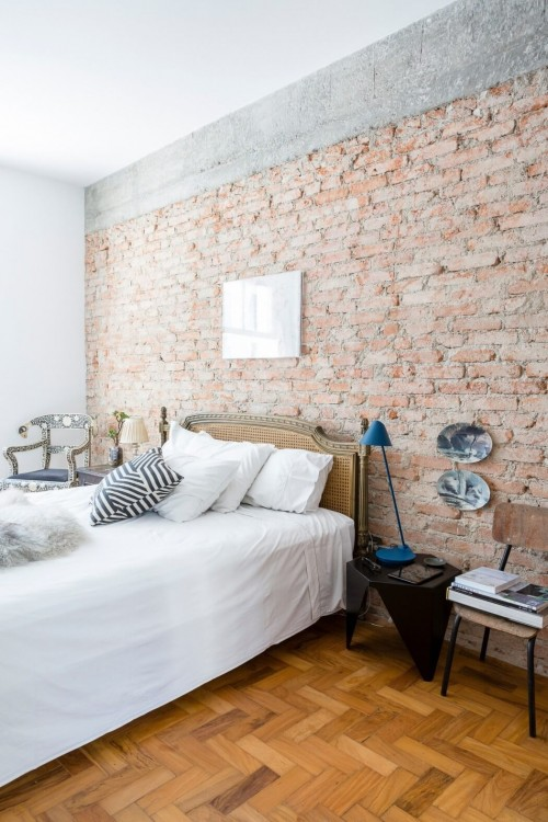 Industriële vintage slaapkamer uit Brazilië  Slaapkamer ideeën