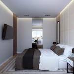 Inspiratie voor ontwerp van moderne slaapkamer