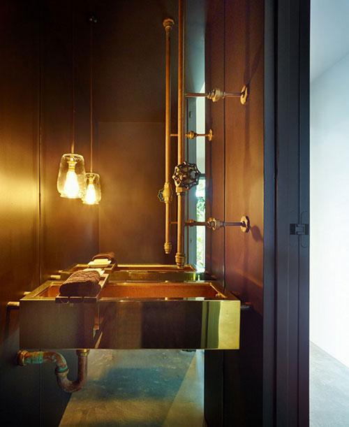 Inspiratie van slaapkamer badkamer combinatie
