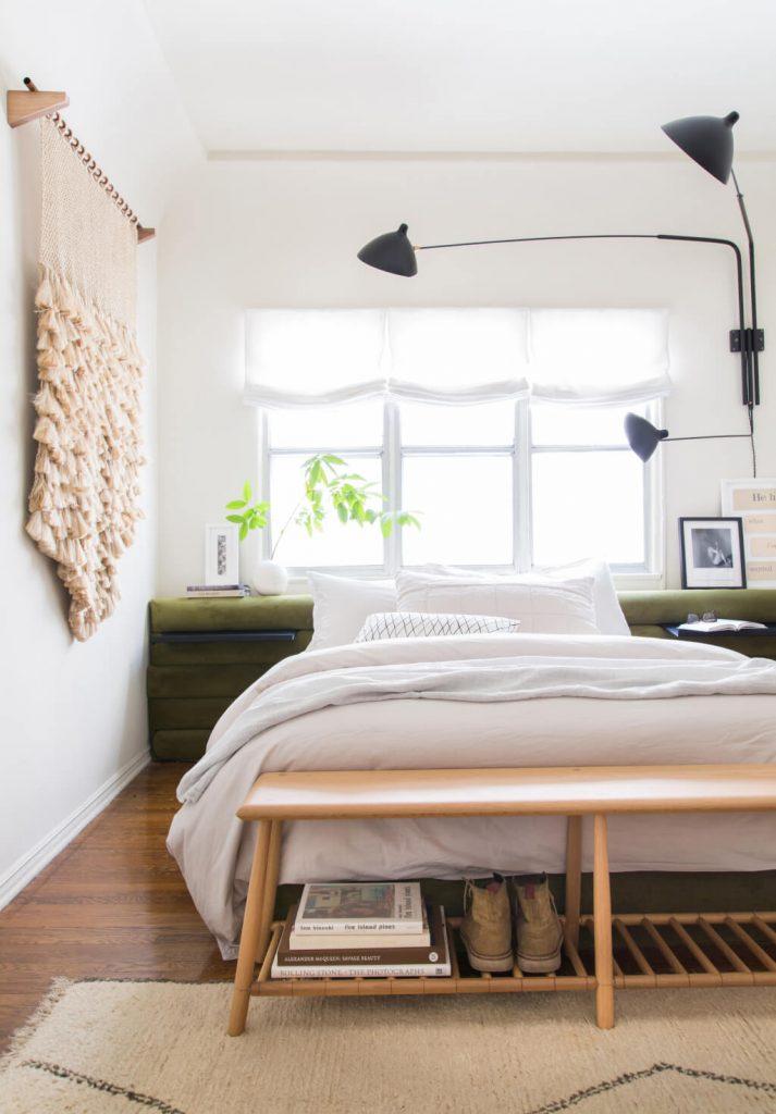 Inspirerende slaapkamer make-over van Brady | Slaapkamer ideeën