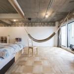 Japanse slaapkamer van Tsukiji Room H appartement