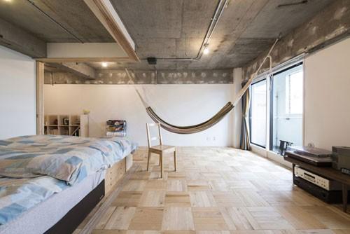 Japanse slaapkamer van Tsukiji Room H appartement   Slaapkamer ideeën