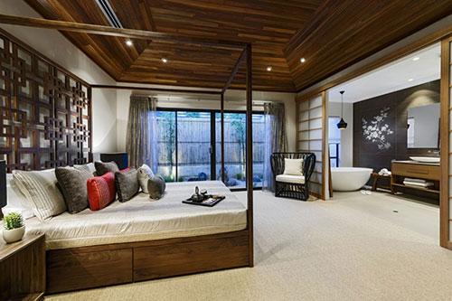 , slaapkamer inspiratie, slaapkamer inrichten, Japanse slaapkamer ...