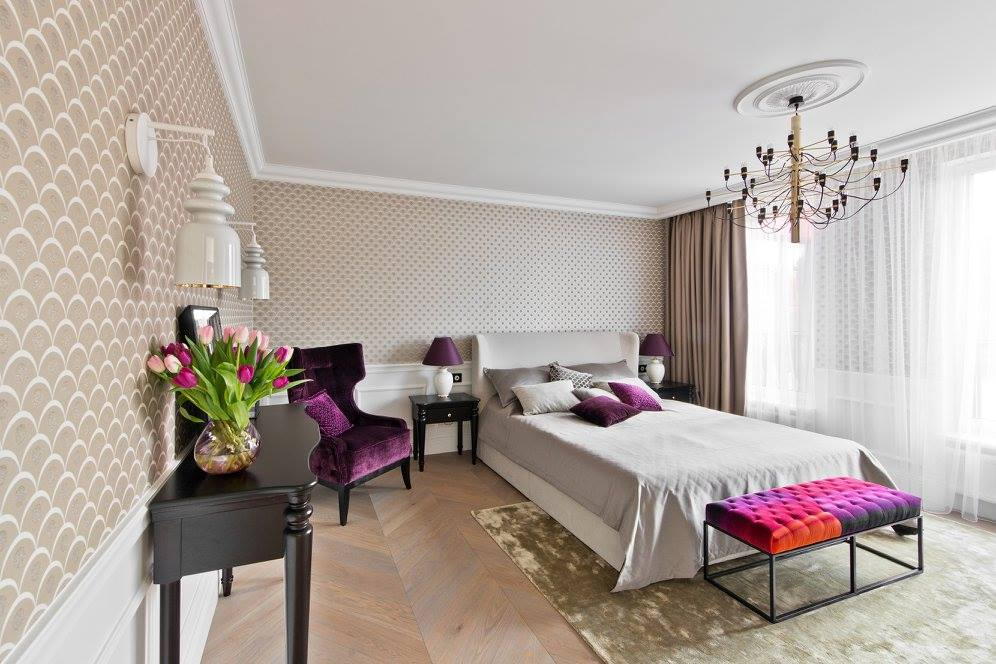 Klassiek chique slaapkamer uit Italië