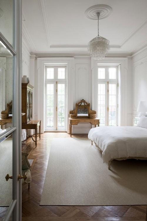 Klassieke herenhuis slaapkamer | Slaapkamer ideeën