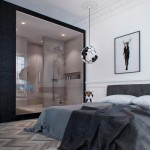 Klassieke slaapkamer met modern tintje