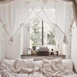 Kleine knusse slaapkamer
