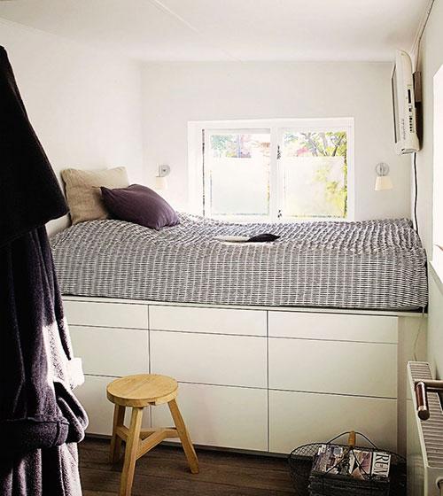 Slaapkamer Inspiratie Kleine Kamer : Tips voor een kleine slaapkamer ...
