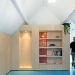 Kleine slaapkamer door Bureau Fraai