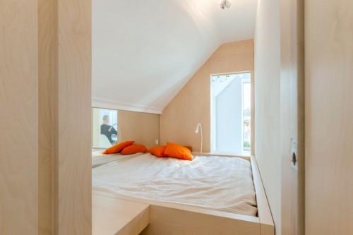 Kleine slaapkamer door Bureau Fraai | Slaapkamer ideeën