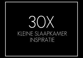 30x Kleine slaapkamer inspiratie