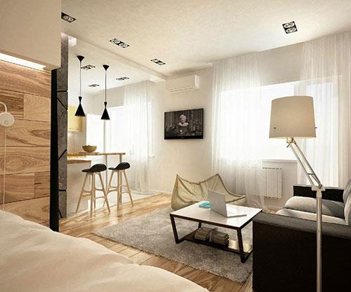 Kleine slaapkamer van klein appartement slaapkamer idee n - Ontwikkel een kleine studio ...