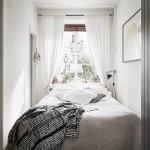 Kleine slaapkamer met kleine kledingkast