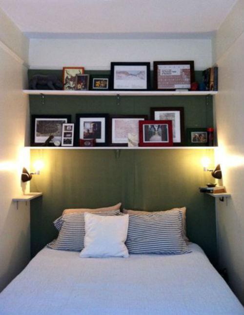 Kleine slaapkamer van Nadia