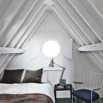 Kleine zolder slaapkamer uit Londen