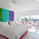 Kleurrijke slaapkamer uit Rusland