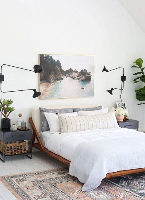 Feng Shui kunst in de slaapkamer