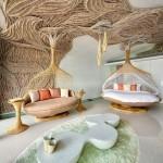 Kunstzinnige slaapkamers van Thai Beach House