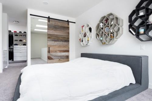 ... Ideeen : met inloopkast idee n voor een open slaapkamer slaapkamer met