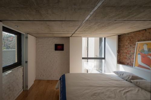 Open loft slaapkamer in vide  Slaapkamer ideeën