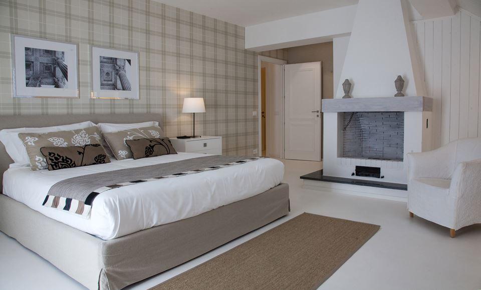 Landelijk chique slaapkamers van B&B La Collegiata