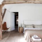 Landelijke rustieke slaapkamer