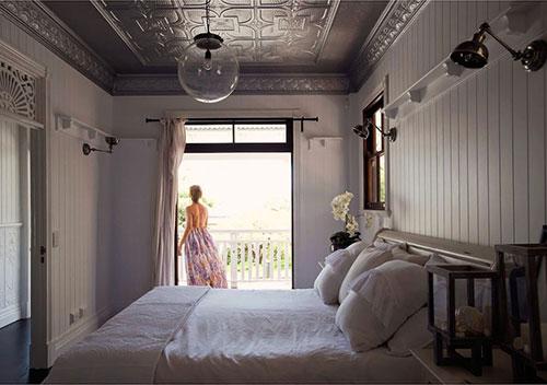 Landelijke slaapkamer van een western woning | Slaapkamer ideeën