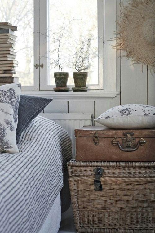 Landelijke slaapkamer accessoires  Slaapkamer ideeën