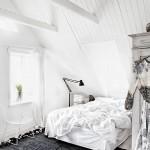 Landelijke slaapkamer van interieurstyliste Jenny Hjalmarsson Boldsen