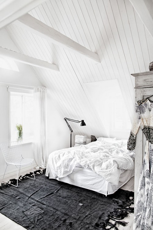 Landelijke slaapkamer van interieurstyliste Jenny Hjalmarsson Boldsen ...