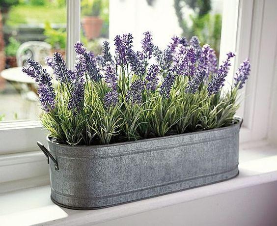 Lavendel slaapkamer