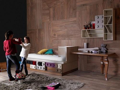 Kinder Slaapkamer Ideeen : Lego kinderkamer meubels Slaapkamer ideeën
