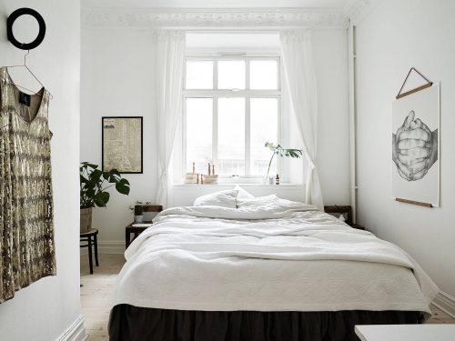 Less is more slaapkamer