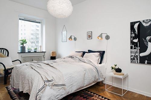 Leuke Ingerichte Slaapkamers : Leuk ingerichte scandinavische slaapkamer slaapkamer ideeën