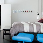 Slaapkamer met eigenzinnig ontwerp