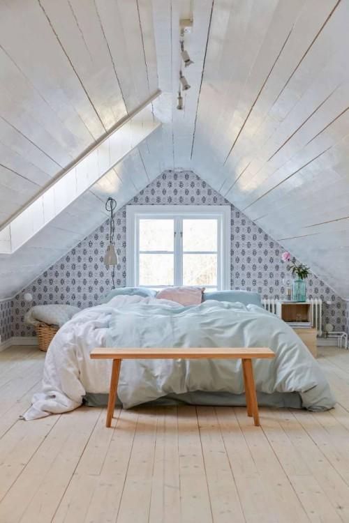 rustic attic bedroom ideas - Landelijke Slaapkamer