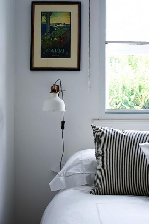 Licht in slaapkamer