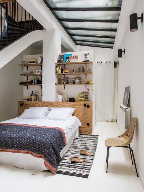 Slaapkamer Te Licht : Bohemian Studio Apartment Ideas