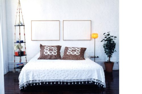 Gordijn Als Scheidingswand : Loft slaapkamer achter gordijn slaapkamer ideeën