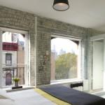 Loft slaapkamer in Chinatown New York