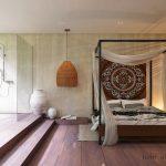 Luxe Balinese slaapkamer suite