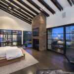 Luxe comfortabele slaapkamer uit California